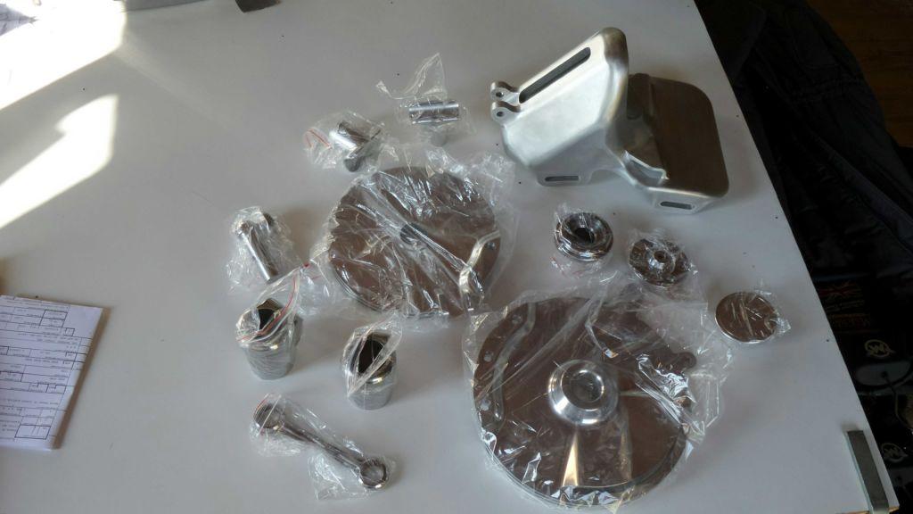 Super 3d alcune parti in alluminio lucidato a specchio - Alluminio lucidato a specchio ...